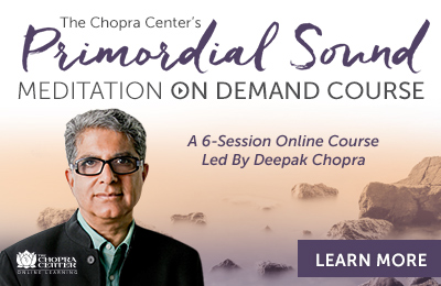 Primordial Sound Meditation at the Chopra Center